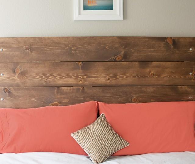 Cabeceras de madera para la cama - Hacer una cama de madera ...
