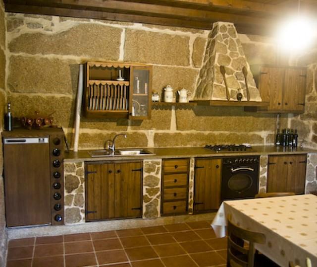 Decoraci n de cocinas r sticas - Decoracion rural interiores ...