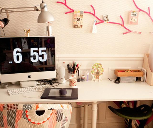 Ideas que te ayudar n a decorar las paredes de tu oficina for Ideas para decorar oficina